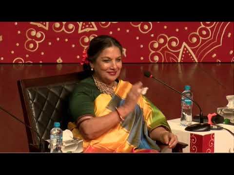 Bollywood actor Shabana Azmi dialogue in Faiz international festival Lahore 16 Nov 2018
