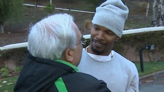 Jamie Foxx Rescues Man From Burning Car