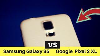 Viejo Smartphone vs Nuevo Smartphone Galaxy S5 vs Pixel 2 XL