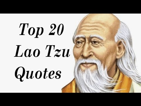 20 Inspiring Quotes from Lao Tzu