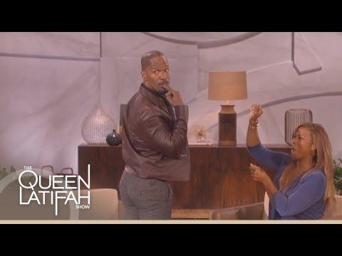Jamie Foxx Dances on The Queen Latifah Show