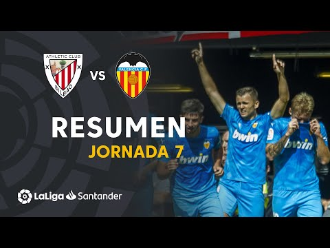 Resumen de Athletic Club vs Valencia CF (0-1)