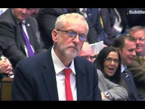 Jeremy Corbyn heckled by Labour MPs