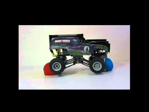 How Much Can An F150 Tow >> LEGO Mini Grave Digger Monster Truck   How To Save Money And Do It Yourself!
