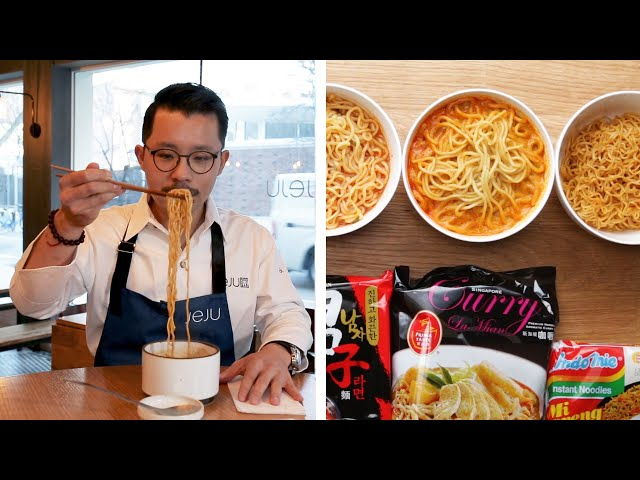 Ramen Chef Reviews Instant Ramen