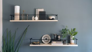 How to Style Open Shelving | Sunset