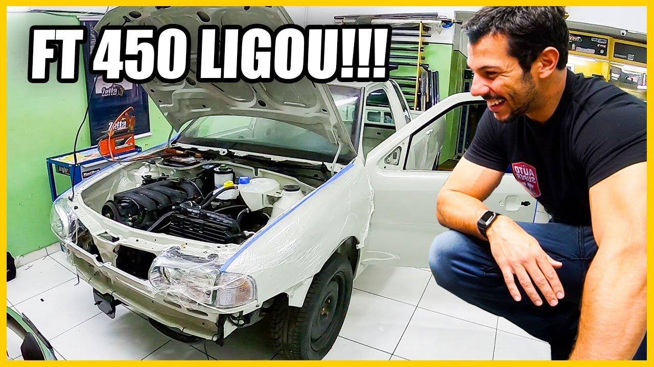 Volkswagen Saveiro TSI (Pão de Queijo) - Finalmente com FT 450 e ELÉTRICA! 🤘😎