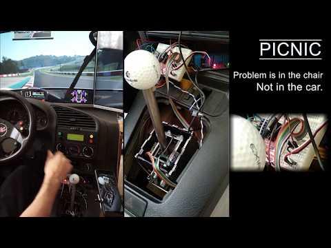 DIY H-Shifter with Servo Feedback