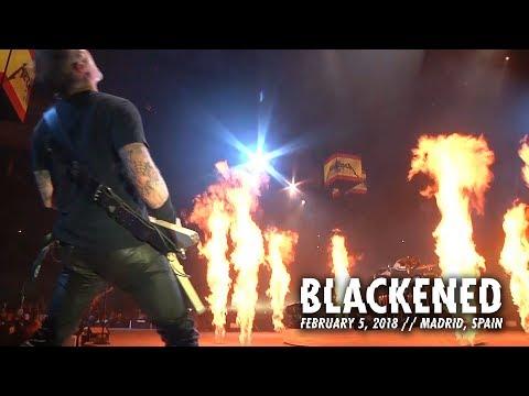Metallica: Blackened (Madrid, Spain - February 5, 2018)