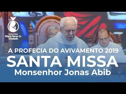 Profecia do Avivamento 2019 // Monsenhor Jonas Abib // Ministrou um Seminário de dons na Homilia
