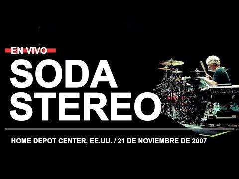 SODA STEREO - Juego de seducción // Home Depot Center, Los Angeles, EE UU (21.11.2007)