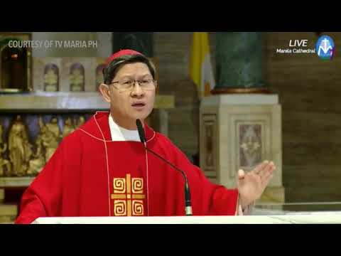 Cardinal Tagle's homily on Good Friday 2018: Do we save Jesus or another king?