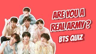 ARE YOU A REAL ARMY ? | BTS QUIZ |EASY EDITION | KPOP QUIZ