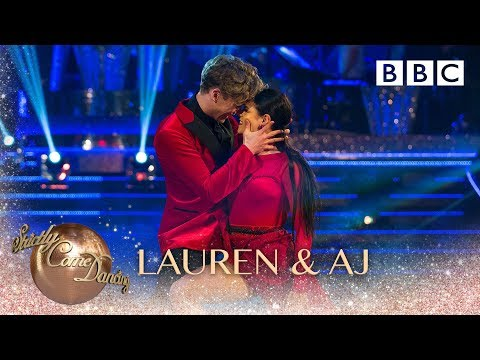 Lauren Steadman and AJ Pritchard Tango to 'River' by Bishop Briggs - BBC Strictly 2018