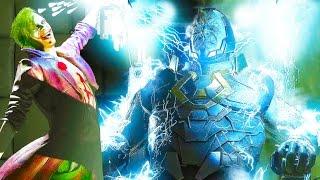 INJUSTICE 2 All Super Moves On Darkseid Gameplay