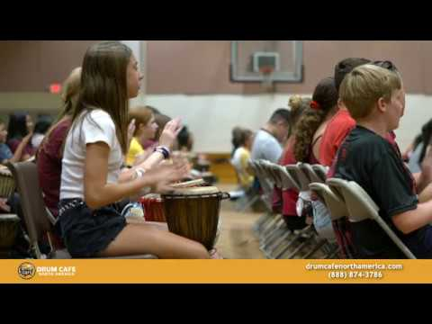 KIDS' Interactive Drumming Session - Travis Ranch Middle School