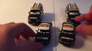 Disney Pixar cars piston cup security officials diecast reviews