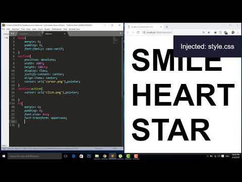 CSS Custom Cursor With Hover Effects Chage Mouse Pointer | Html CSS