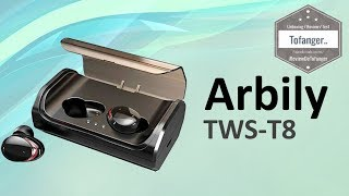 Arbily Tws T8 Ecouteurs Bluetooth 5 0 Earbuds Youtube