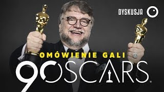 Oscary 2018 - Krótkie podsumowanie gali