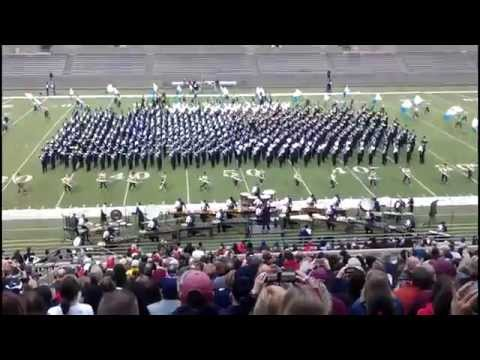 Largest Marching Band in America performs RINGS Angels in the Architecture - Allen Eagle Band - UIL