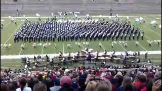 largest marching band in america performs rings angels in the architecture allen eagle band uil