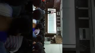 Sahil sir singing a song in classroom  ambition pre medical Institute kanpur