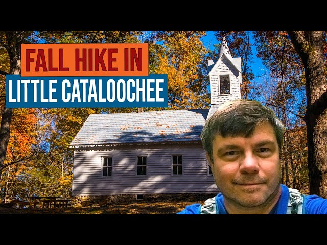 Fall Hike to Little Cataloochee Valley in the Great Smoky Mountains National Park
