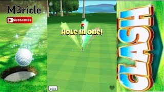 Golf Clash, hitting TOP 1000 global! and HOLE IN ONE bonus!