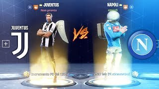 JUVENTUS - NAPOLI su Fortnite! Fortnite Battle Royale ITA!