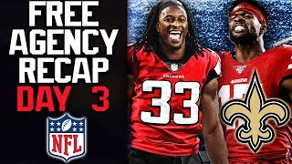 NFL Free Agency Recap! Todd Gurley to Falcons! Melvin Gordon to Broncos! Travis Frederick Retires!