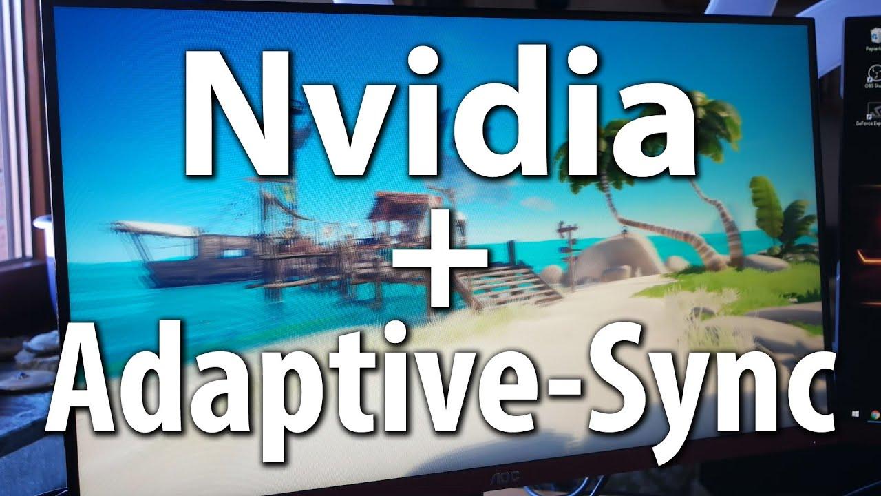 Tutorial: Nvidia Grafikkarte mit Adaptive-Sync / Freesync-Monitor -  Anleitung mit einem AOC G10PX