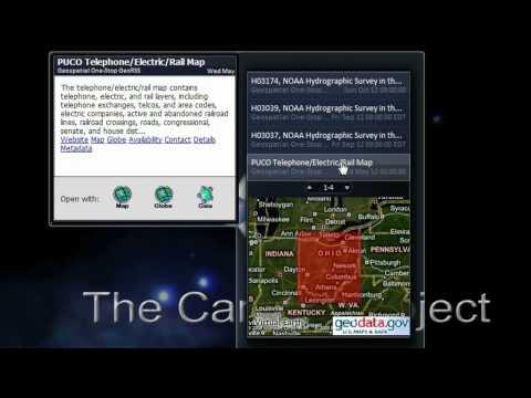 GeoRSS Gadget for Vista & Windows 7