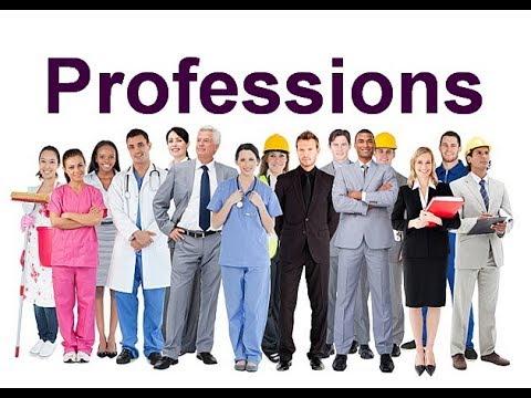 Professions In English. Профессии на английском языке. Английский детям