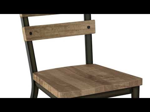 Metal Kitchen Chairs with Wood Seats Furniture