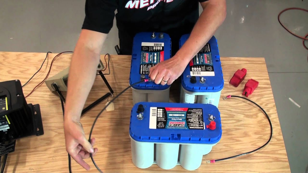 24v And 36v Trolling Battery Installation