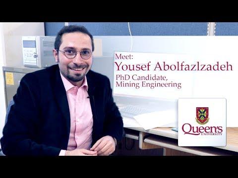 Meet  Yousef Abolfazlzadeh, PhD Candidate In Mining Engineering