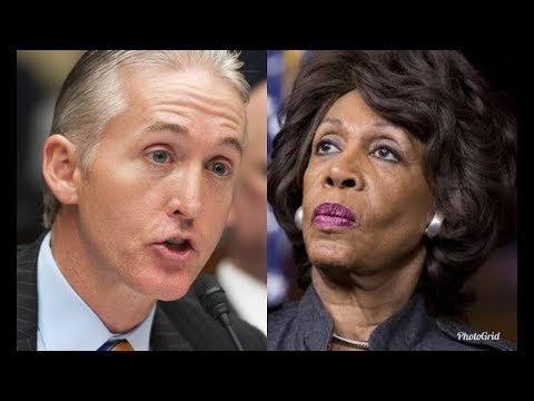 MAXINE WATERS TRIGGERED and SENT PACKING BY REPUBLICAN CONGRESSMAN
