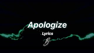 Besomorph & Anthony Keyrouz - Apologize (ft. Lunis) [Lyric Video]