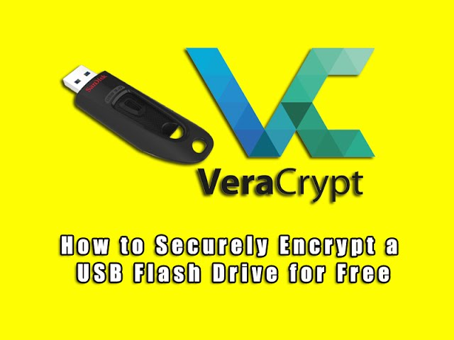 How To Securely Encrypt A Usb Flash Drive For Free Youtube