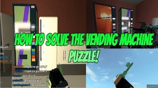 Roblox Phantom Forces How To Solve the Vending Machine Puzzle! How To Get The Jade Key in PF Roblox.