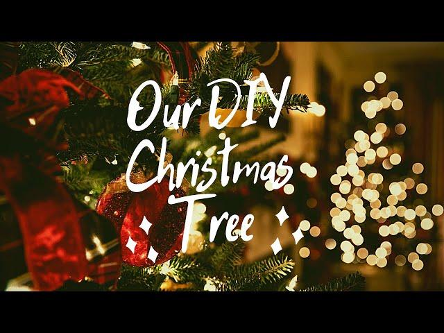 Sapin de Noël et calendrier de l'avent DIY en accéléré // VLOGMAS