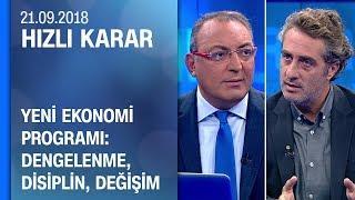 Yeni Ekonomi Programı: Dengelenme, disiplin, değişim - Hızlı Karar 21.09.2018 Cuma