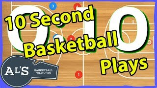 10 Second Basketball Plays
