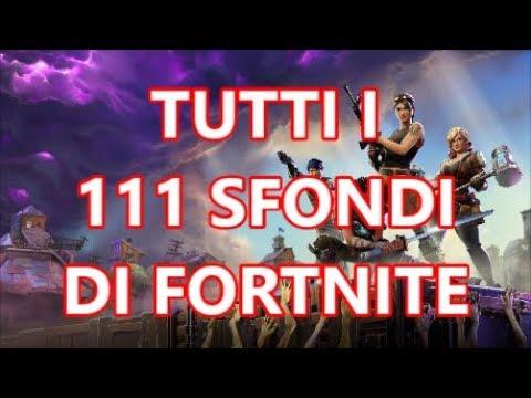 Tutti I 111 Sfondi Di Fortnite Youtube