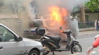 Voiture de police incendiée: pourquoi les parents d'Antonin réclament sa libération