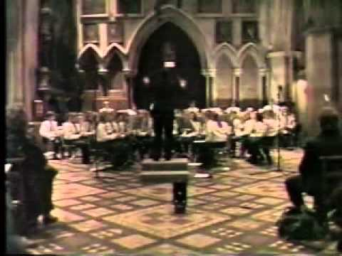 The Allen High School Escadrille goes to Ireland in 1994