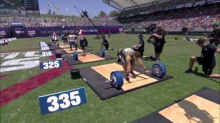 Reebok Crossfit Games 2013 Men Clean & Jerk Ladder HD