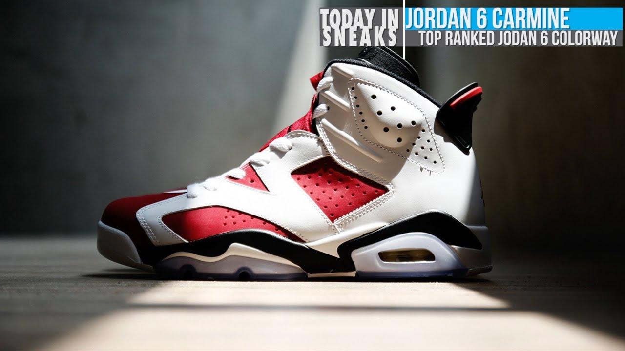 Air Jordan 6 Carmin Oggis Pizza