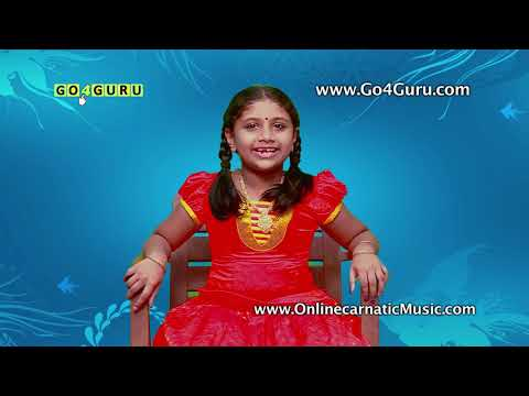 Online Carnatic Music Classes by Go4Guru - 1 on 1 Online Carnatic